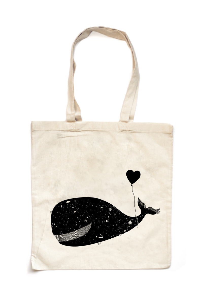 Bag_LoveIsAWhale-White
